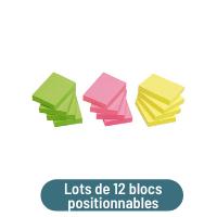 lot de 12 blocs positionnables