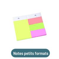 notes petits formats