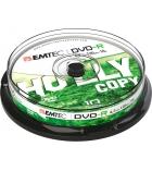 Tour 10 DVD-R 4,7 Go EMTEC - 16x