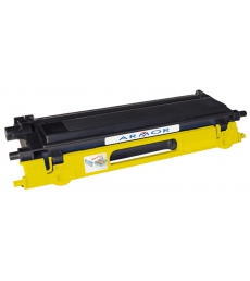 Cartouche d'impression laser jaune compatible recyclée pour Brother - 4000 pages - TN-135Y