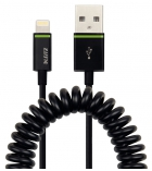 Cable spirale USB LEITZ complet 1 mètre