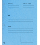 Paquet de 25 dossiers de plaidoirie EXACOMPTA 265g