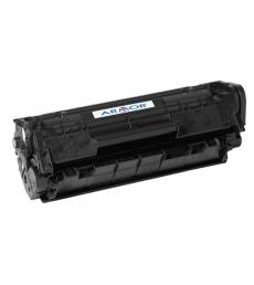 Cartouche d'impression laser noire compatible recyclée pour HP -  2000 pages - Q2612A