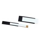 Sachet de 10 portes-étiquettes magnétiques NOBO - 15 x 80 mm