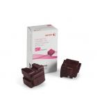 Boîte de 2 sticks laser couleur magenta XEROX 4400 pages - 108R00932