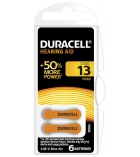 Boîte de 6 piles auditives DURACELL - LR44 - Tab 13