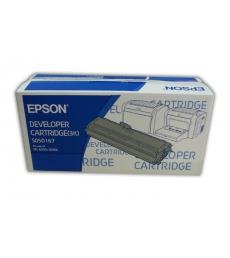 Cartouche d'impression laser noir EPSON 3000 pages - C13S050167 - 0167