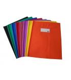 Lot de 10 protège-cahiers sans rabat - 24 x 32 cm