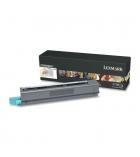 Cartouche d'impression laser noire LEXMARK 8500 pages - C925H2KG