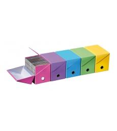 Lot de 10 boîtes de rangement FAST petit modèle