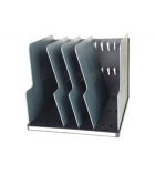 Trieur vertical EXACOMPTA Modulotop - gris lumière/gris souris