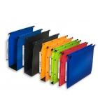 Paquet de 10 dossiers suspendus polypro pour armoire L'OBLIQUE Ultimate - fond 80 mm