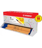 Probox 50 stylos feutres STABILO - Point 88 - pointe fine - dont 10 gratuits