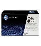 Cartouche d'impression laser noir HP 2500 pages - Q2624A - 24A