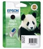 """Cartouche d'impression """"panda"""" jet d'encre noire EPSON 540 pages - C13T05014010 - T0501"""