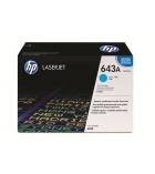Cartouche d'impression laser couleur cyan HP 10000 pages - Q5951A - 643A