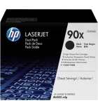 Pack 2 cartouches laser noires HP 2x24000 pages - CE390XD - 90XD