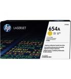Cartouche d'impression laser jaune HP 15000 pages - CF332A - 654A
