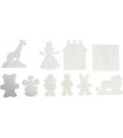 Lot de 10 plaques pour perles midi à repasser Les personnages dès 5 ans