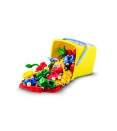 Baril de jouets 25 véhicules Mini Chubbies 7 cm dès 1 an