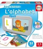 Jeu de lettres Le Lynx l'alphabet dès 3 ans