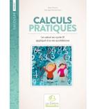 Livre fiches de travail 161 pages Calculs pratiques Cycle III dès 9 ans