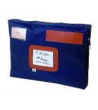 Pochette courrier à soufflet en nylon ALBA - 30 x 42 x 5 cm