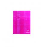 Cahier piqûre CLAIREFONTAINE 3781 - 144 pages - 17 x 22 cm - séyès