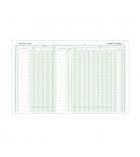 Piqûre comptable EXACOMPTA - 5 colonnes sur 1 page - 4050 - 32 x 25 cm