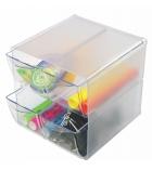 Cube de rangement - 4 tiroirs