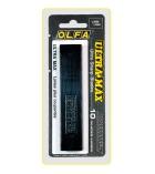 Etui de 10 lames noires OLFA - 18 mm