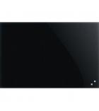 Tableau en verre effaçable - 40 x 60cm - noir