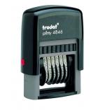 Numeroteur TRODAT T4846 - 6 bandes - 4 mm