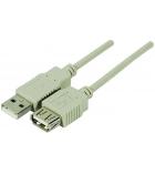 Rallonge USB 2 AA M/F - 3 mètres