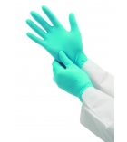 Boîte de 100 gants nitrile 7,5 medium - bleu