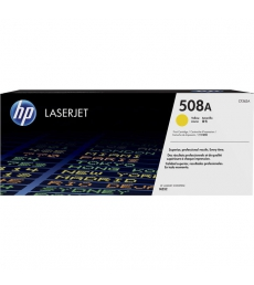 Cartouche d'impression laser jaune HP 5000 pages - CF362A - 508A