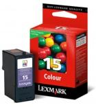 Cartouche d'impression jet d'encre 3 couleurs LEXMARK 150 pages - 18C2110E - 15