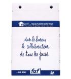 Recharge de bloc de bureau FAF quadrillée 5x5 n°3 EXACOMPTA - 115 x 185 mm