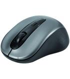 Mini souris optique sans fil - 2.4ghz noir/argent