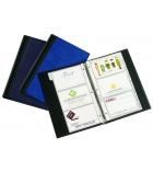 Porte-cartes de visite élégance PVC - 29 x 19cm - pour 300 cartes