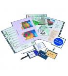Boîte de 100 pochettes de plastification pour carte de crédit - 54 x 86 mm - 125 microns par face