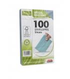 Paquet de 100 enveloppes élection GPV - 90 x 140 mm - 75 g