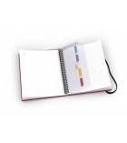Cahier spirale OXFORD Beauty multi-tasker - 120 pages - 16,8 x 21cm - ligné 6 mm