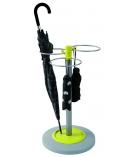 Porte-parapluies ALBA - Flower - ABS et acier - vert anis
