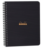 Cahier spirale RHODIA Note Book Rhodiactive - 160 pages - A5+ - 5 x 5