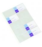 Sachet de 10 pochettes de porte-cartes VIQUEL Géode - A4 - pour 200 cartes
