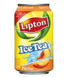 Pack de 24 canettes de ICE TEA - Pêche - 33 cl