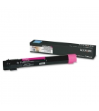 Cartouche laser magenta LEXMARK 24000 pages - X950X2MG
