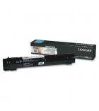 Cartouche laser noire LEXMARK 32000 pages - X950X2KG