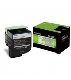 Cartouche laser noire LEXMARK 8000 pages - 70C2XK0 - 702XK